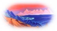Картина Николая Рериха Песня Священная Танла
